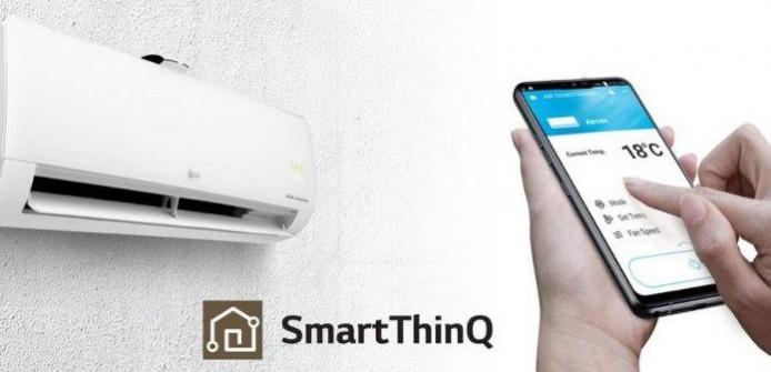 AC LG Intverter SmartThinQ