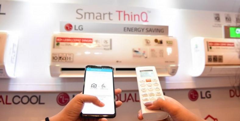 LG SmartThinQ AC DUAL COOL with CONTROL WATT
