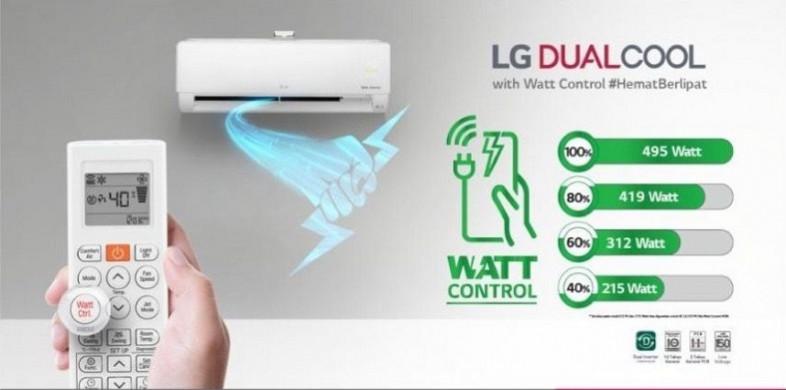 AC LG DUAL COOL with WATT CONTROL