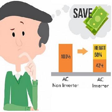 AC Standard VS AC Inverter, Kenali Perbedaanya
