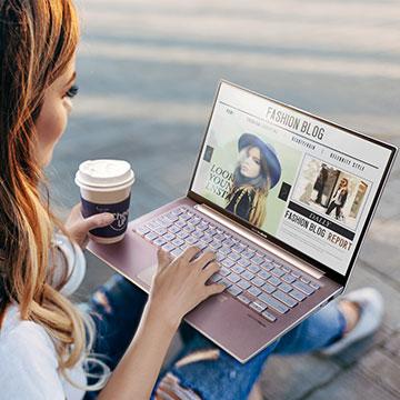 ASUS VivoBook S330, Laptop 13inci dengan Tampilan Luas