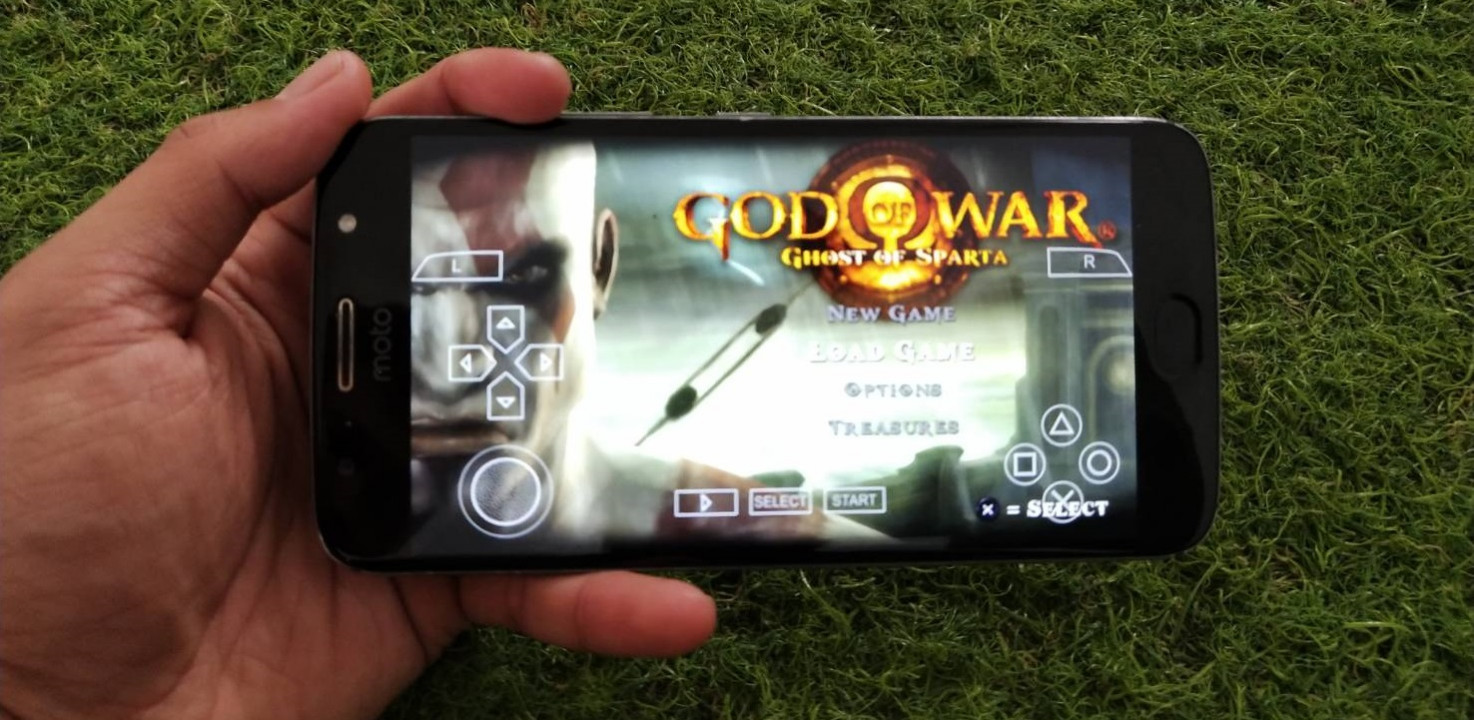 cara memainkan game psp iso di android