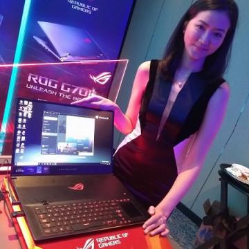 ASUS ROG G703GX, Laptop Gaming Pertama NVIDIA RTX 2080