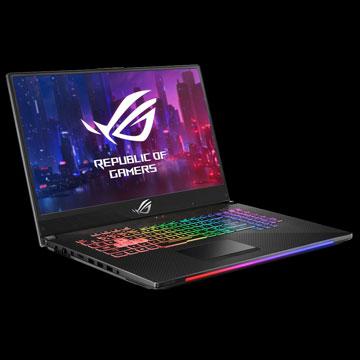 ASUS ROG Strix GL504GW Scar II, Laptop Gaming dengan GeForce RTX