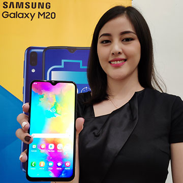Samsung Galaxy M20 di Jual Flash Sale, Harga Rp2,8 Juta