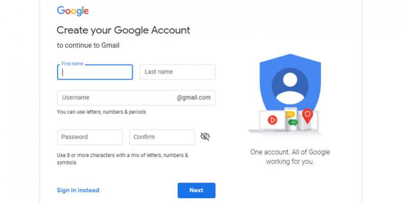 cara buat akun gmail baru di laptop