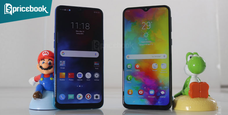 Realme 3 vs Samsung Galaxy M20