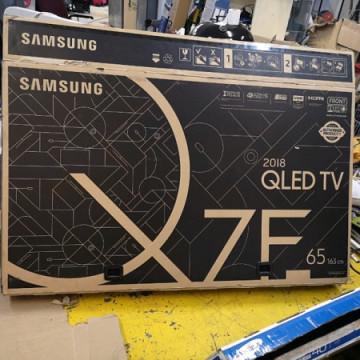 Review Samsung Smart TV QLED Q7F 65, Makin Pintar