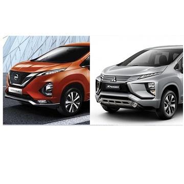 Perbedaan Spek dan Fitur Mitsubishi Xpander vs All New Nissan Livina, Pilih Mana?