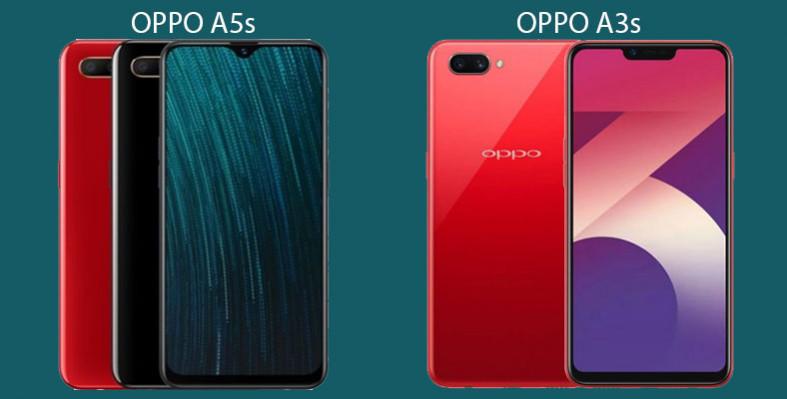 OPPO A5s vs OPPO A3s
