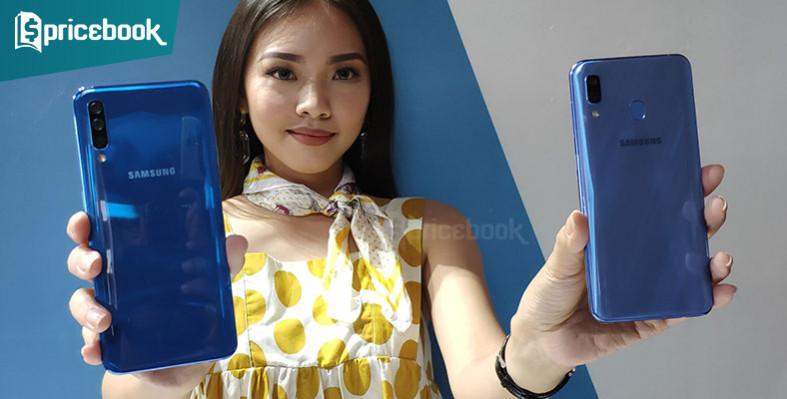 Beda Spesifikasi dan Harga Samsung Galaxy A50 dan A30