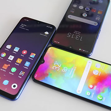 Redmi Note 7 vs Realme 3 vs Galaxy M20, Adu Hp 2 Jutaan