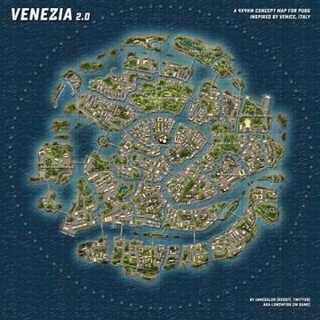 Abandoned City Dan Venezia: Konsep Map Baru Hadir Di PUBG Mobile?