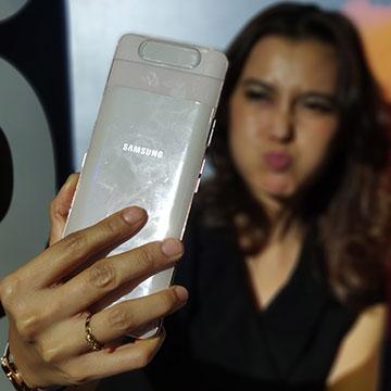 Harga Samsung Galaxy A80 di Indonesia Rp9,5 Juta, Speknya?