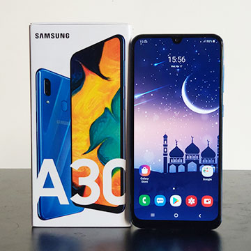 Review Samsung Galaxy A30: Asyik untuk di Ajak Traveling