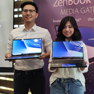 ASUS ZenBook Pro 14 UX480 Punya Spesifikasi Laptop Gaming
