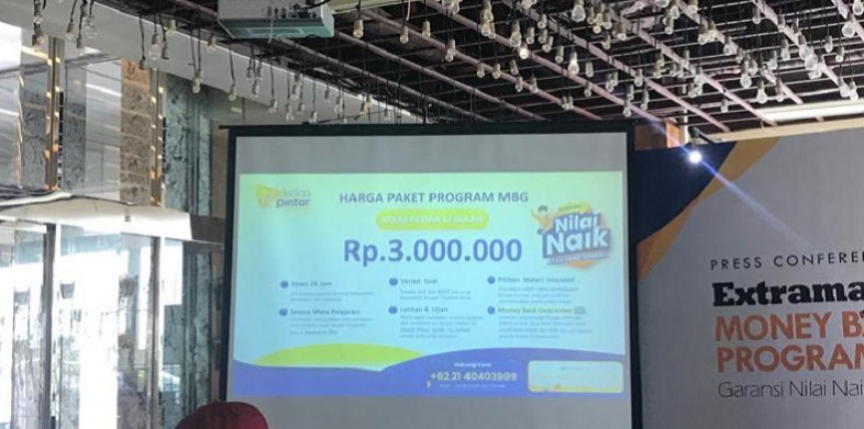 Biaya Program Money Back Guarantee (MGB) Kelas Pintar