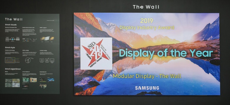 Samsung The Wall Display of The Year