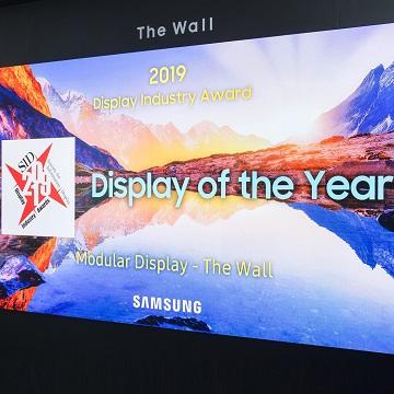 Samsung The Wall Raih Penghargaan Terbaik di Industri Layar