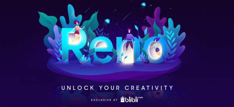 OPPO Reno Unlock Your Creativity