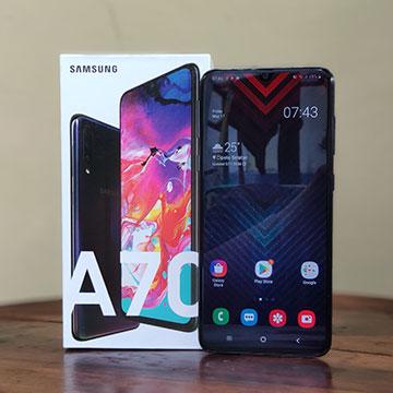 Review Samsung Galaxy A70: Puas Nonton dan Gaming