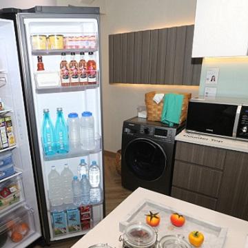 Dapur Nyaman Pada Hunian Modern Dengan Teknologi Samsung