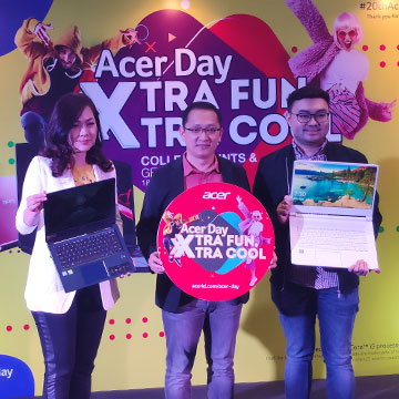 10 Laptop Acer yang Dapat Cashback di Acer Day 2019