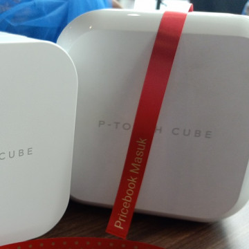 Brother P-Touch Cube, Bikin Label Makin Kreatif
