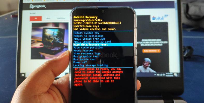 Mengatasi Lupa Pola Hp Samsung