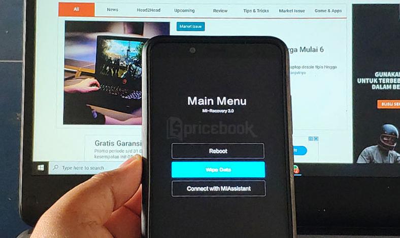 Cara Membuka Pola Hp Xiaomi