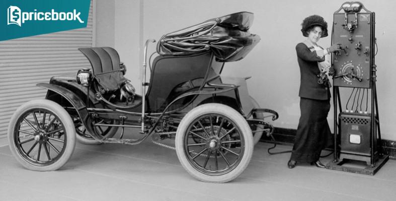 sejarah mobil listrik