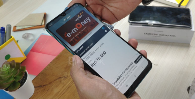 NFC Samsung Galaxy A50s