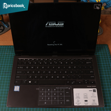 Review Asus Zenbook Flip 13 UX362, Puas Performanya