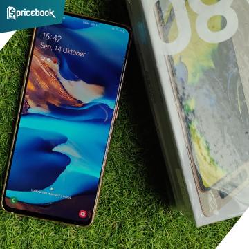 Review Samsung Galaxy A80, Tampilan Oke Tapi Kok Gitu?