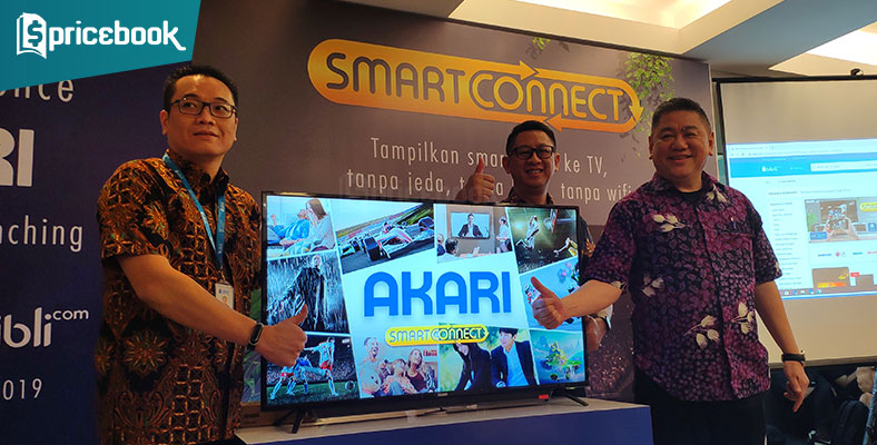 Akari Rilis TV SmartConnect