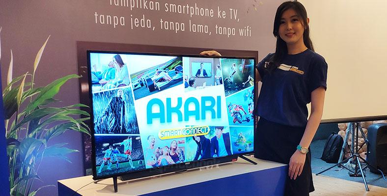 Akari Rilis Tv Smartconnect Yang Bisa Terhubung Ke Semua Hp Pricebook
