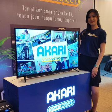 Akari Rilis TV SmartConnect yang Bisa Terhubung ke Semua Hp
