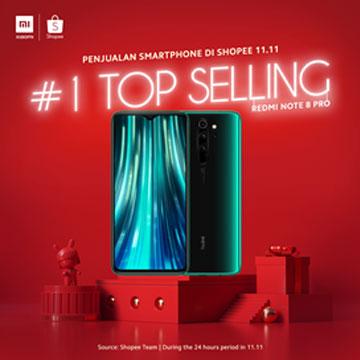 Daftar Hp Xiaomi Terlaris di Festival Belanja Online 11.11