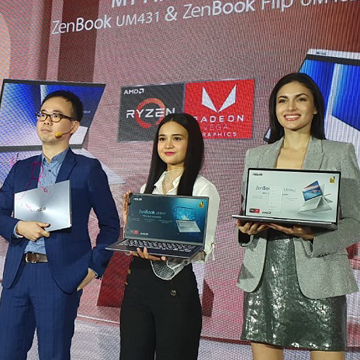 Asus Hadirkan Duet Zenbook AMD Pertama di Indonesia
