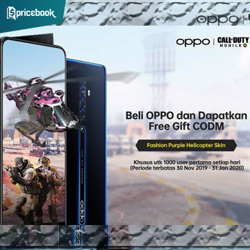 OPPO dan Call of Duty Berkolaborasi, 1000 Purple Helicopter Gratis!