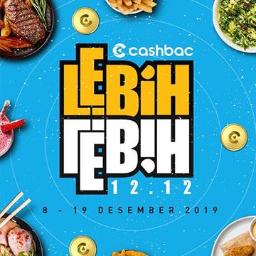 Promo Harbolnas 12.12, Cashbac Tawarkan Reward Hingga 120 Ribu