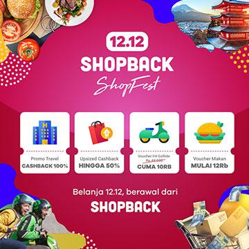 ShopBack Targetkan Kenaikan Nilai Transaksi di Harbolnas 12.12