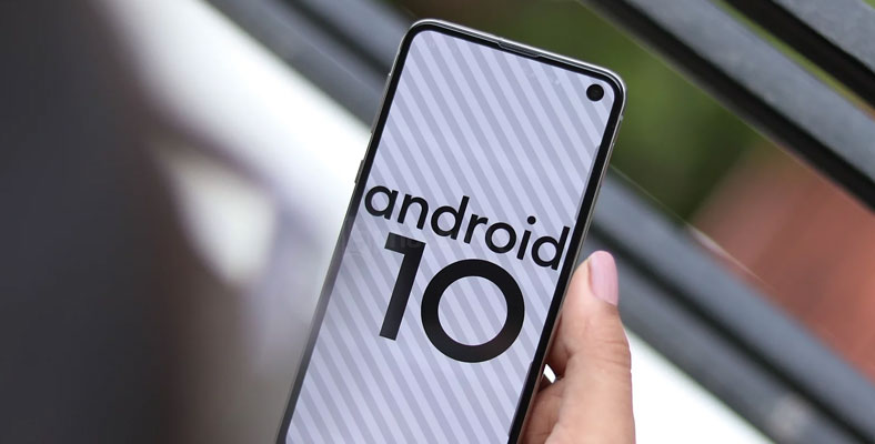 Android 10 galaxy s11