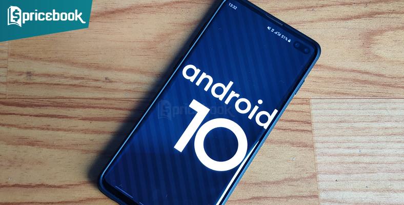 hp yang dapat android 10