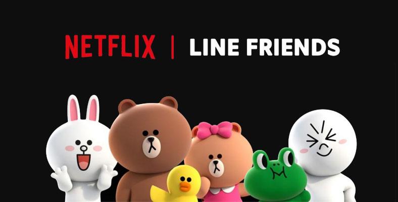 Karakter LINE FRIENDS akan Segera Muncul di Netflix
