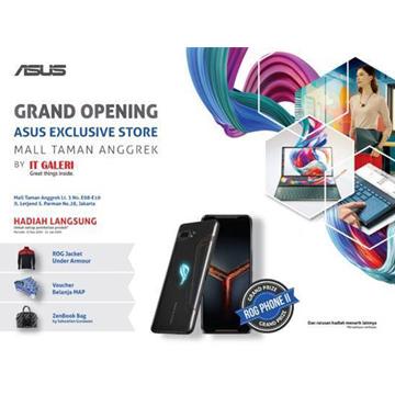 ASUS Exclusive Store Mall Taman Anggrek Kini Lebih Lengkap dan Lebih Besar