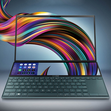 Asus ZenBook Duo Kembali dengan Ukuran yang Lebih Kecil