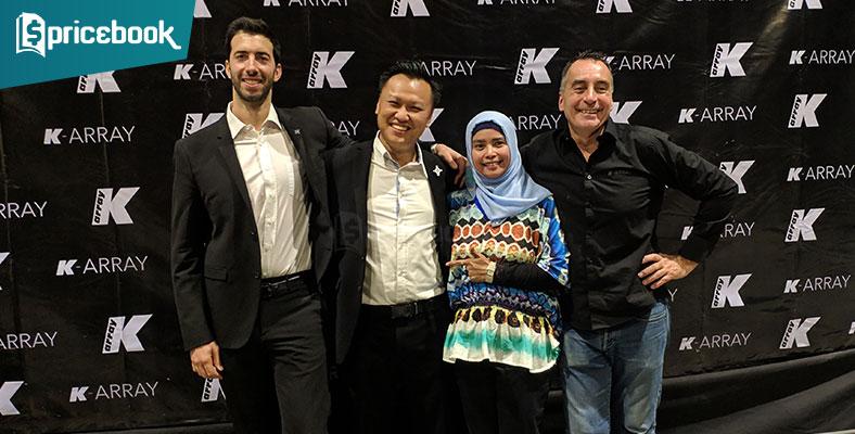 K-array Kembali Hadir, Tawarkan Speaker Terbaik dan Inovatif