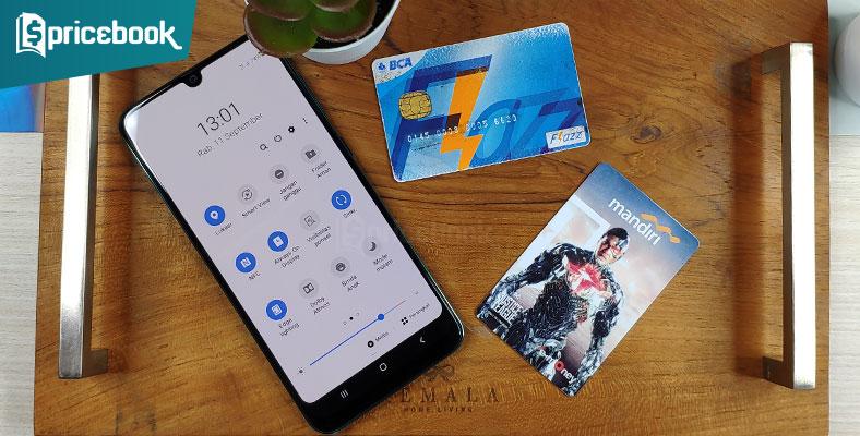 Hp Samsung dengan NFC
