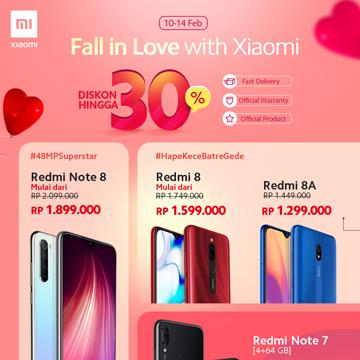 Valentine Tiba Xiaomi Beri Promo Turun Harga!